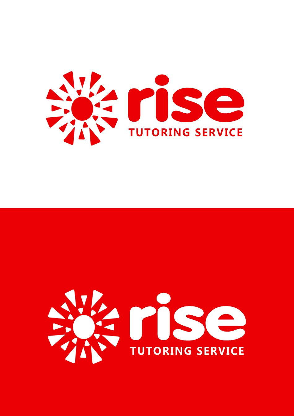 Logo Design by Respati Himawan - Entry No. 213 in the Logo Design Contest Imaginative Logo Design for Rise Tutoring Service.