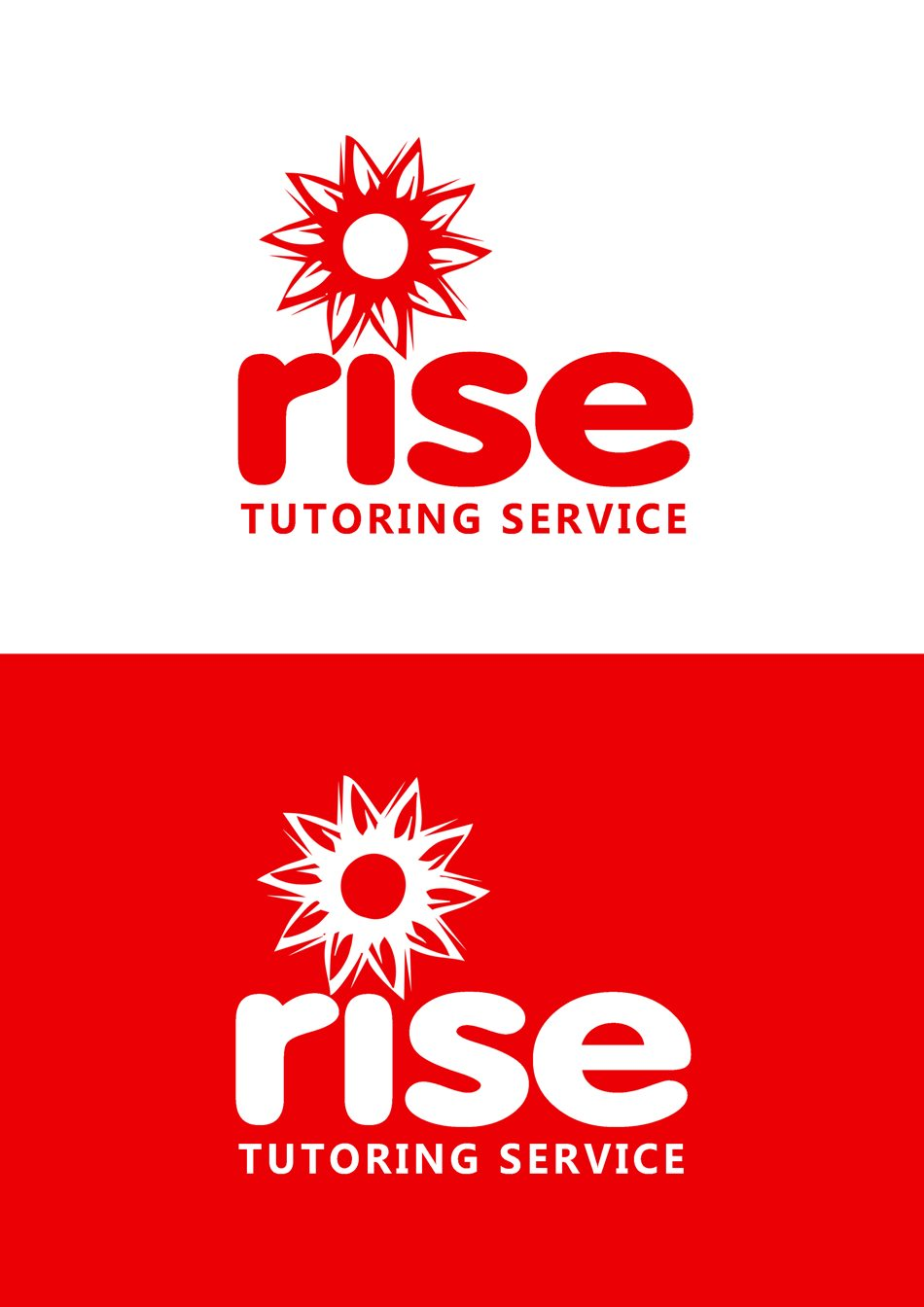 Logo Design by Respati Himawan - Entry No. 214 in the Logo Design Contest Imaginative Logo Design for Rise Tutoring Service.