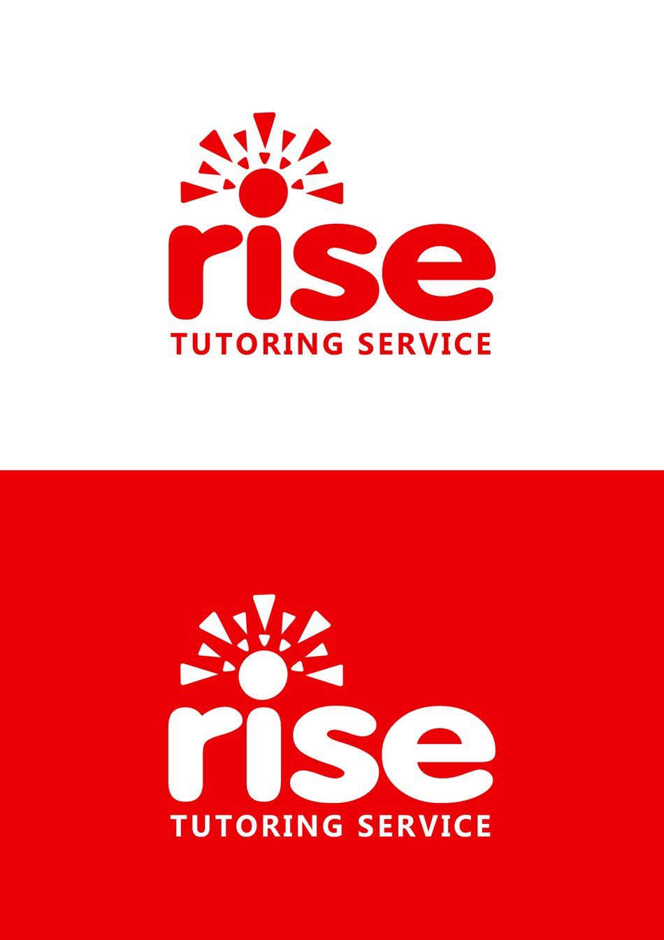 Logo Design by Respati Himawan - Entry No. 216 in the Logo Design Contest Imaginative Logo Design for Rise Tutoring Service.