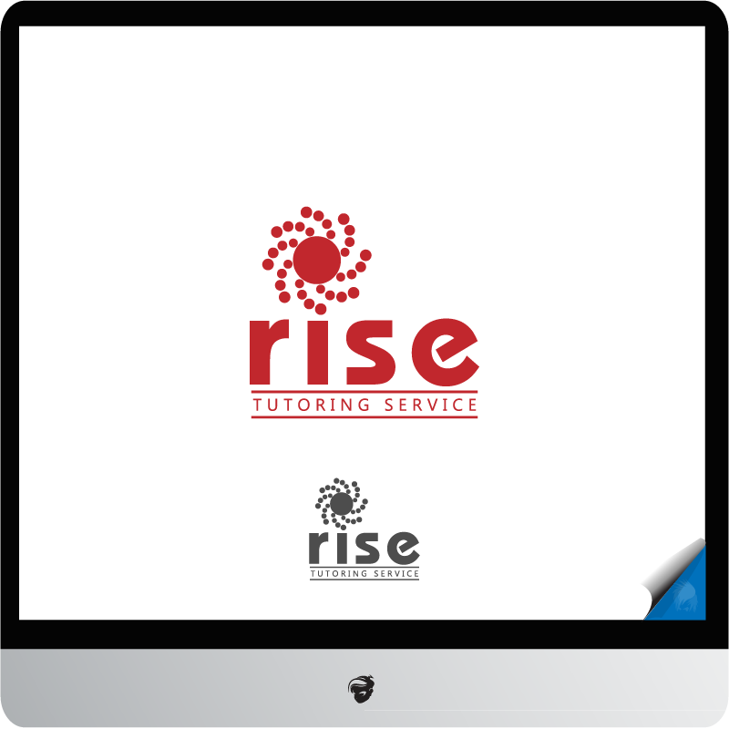 Logo Design by zesthar - Entry No. 217 in the Logo Design Contest Imaginative Logo Design for Rise Tutoring Service.