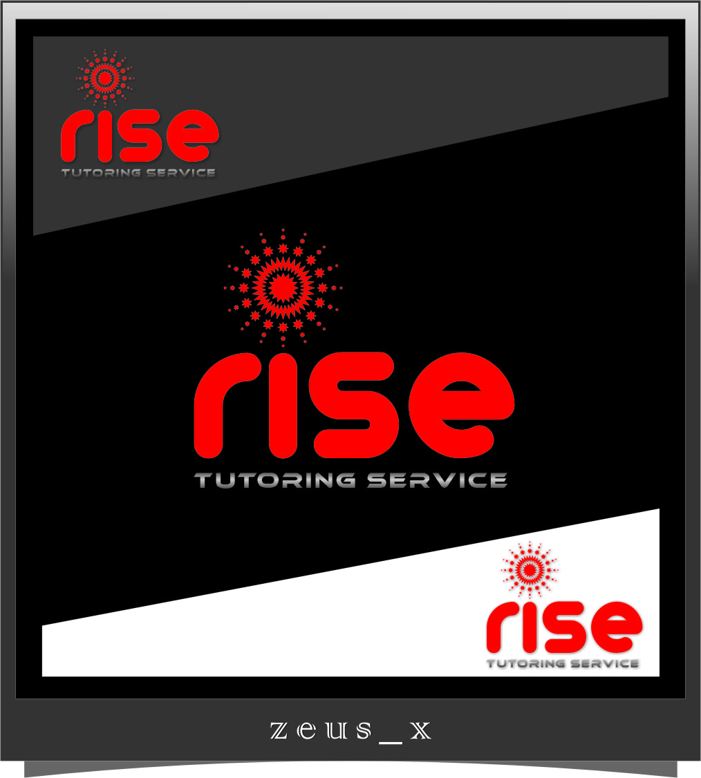 Logo Design by Ngepet_art - Entry No. 219 in the Logo Design Contest Imaginative Logo Design for Rise Tutoring Service.