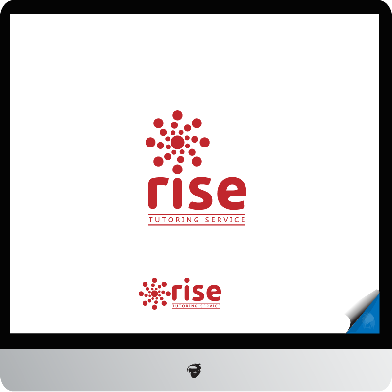 Logo Design by zesthar - Entry No. 220 in the Logo Design Contest Imaginative Logo Design for Rise Tutoring Service.