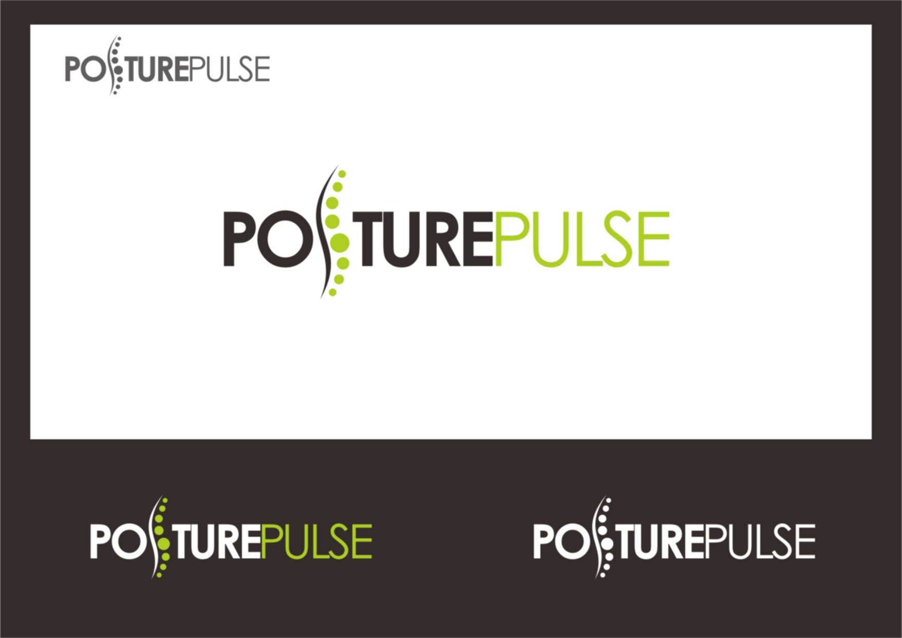 Logo Design by Private User - Entry No. 81 in the Logo Design Contest Unique Logo Design Wanted for PosturePulse.