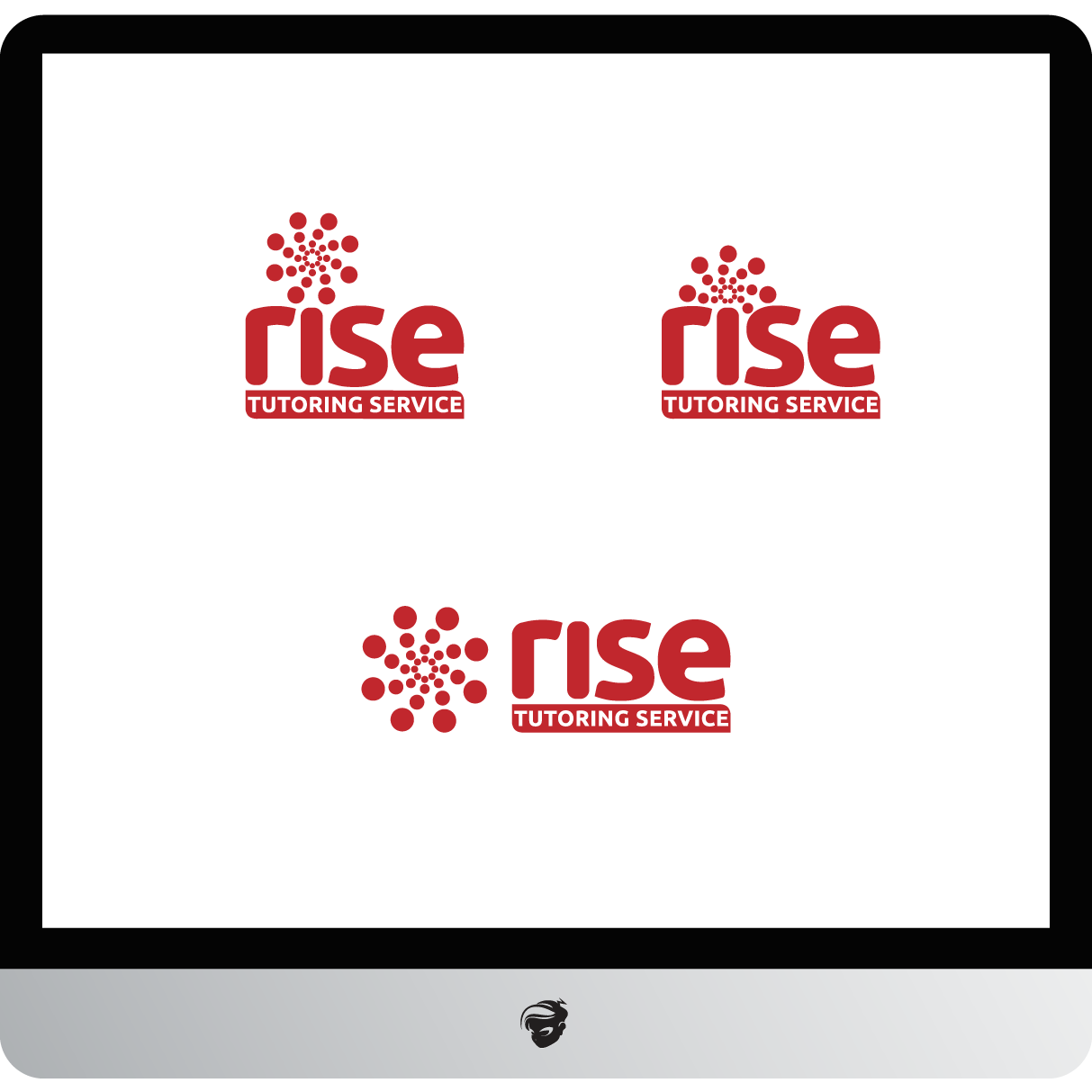 Logo Design by zesthar - Entry No. 227 in the Logo Design Contest Imaginative Logo Design for Rise Tutoring Service.