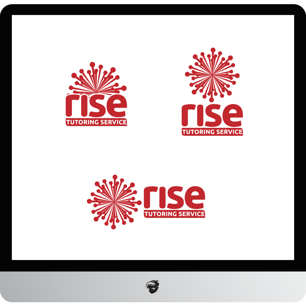 Logo Design by zesthar - Entry No. 229 in the Logo Design Contest Imaginative Logo Design for Rise Tutoring Service.