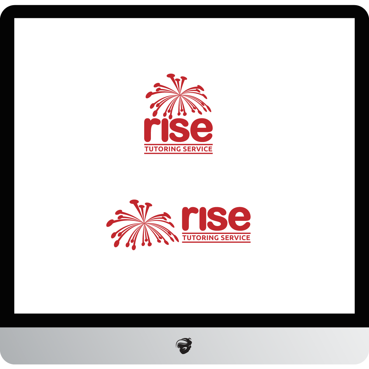 Logo Design by zesthar - Entry No. 232 in the Logo Design Contest Imaginative Logo Design for Rise Tutoring Service.