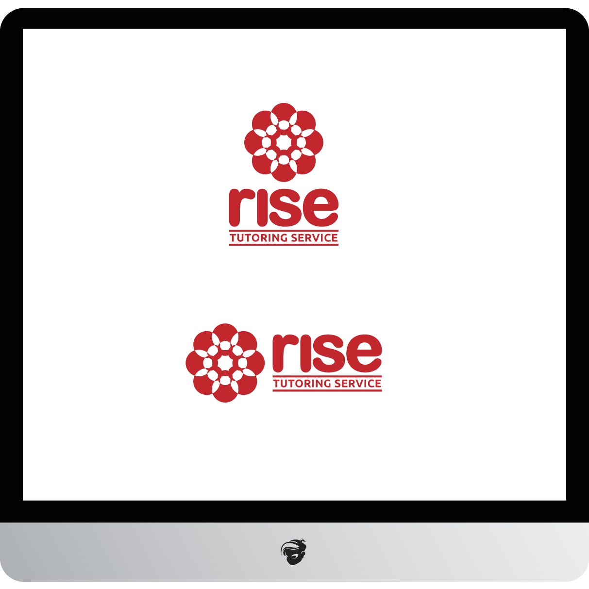 Logo Design by zesthar - Entry No. 233 in the Logo Design Contest Imaginative Logo Design for Rise Tutoring Service.