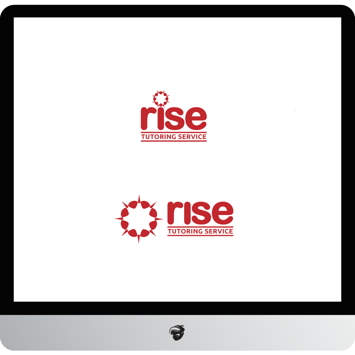Logo Design by zesthar - Entry No. 234 in the Logo Design Contest Imaginative Logo Design for Rise Tutoring Service.
