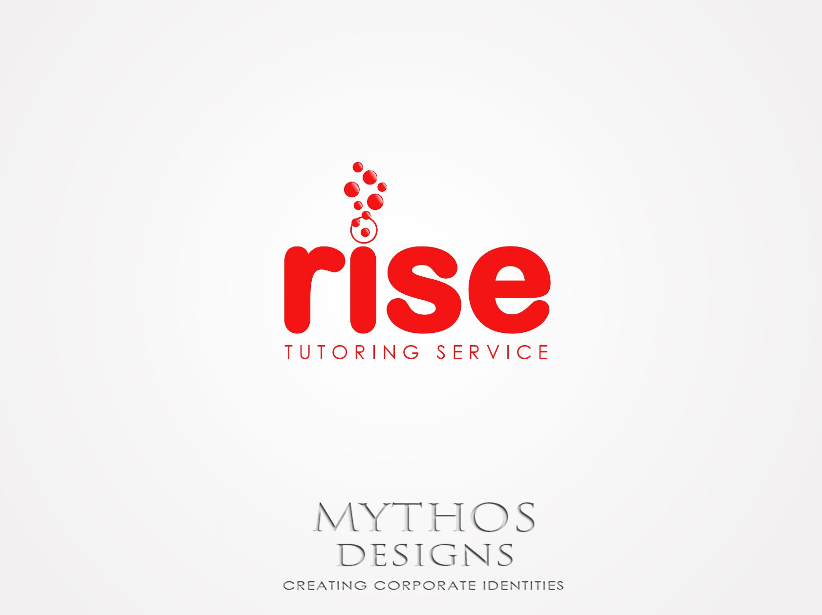 Logo Design by Mythos Designs - Entry No. 238 in the Logo Design Contest Imaginative Logo Design for Rise Tutoring Service.