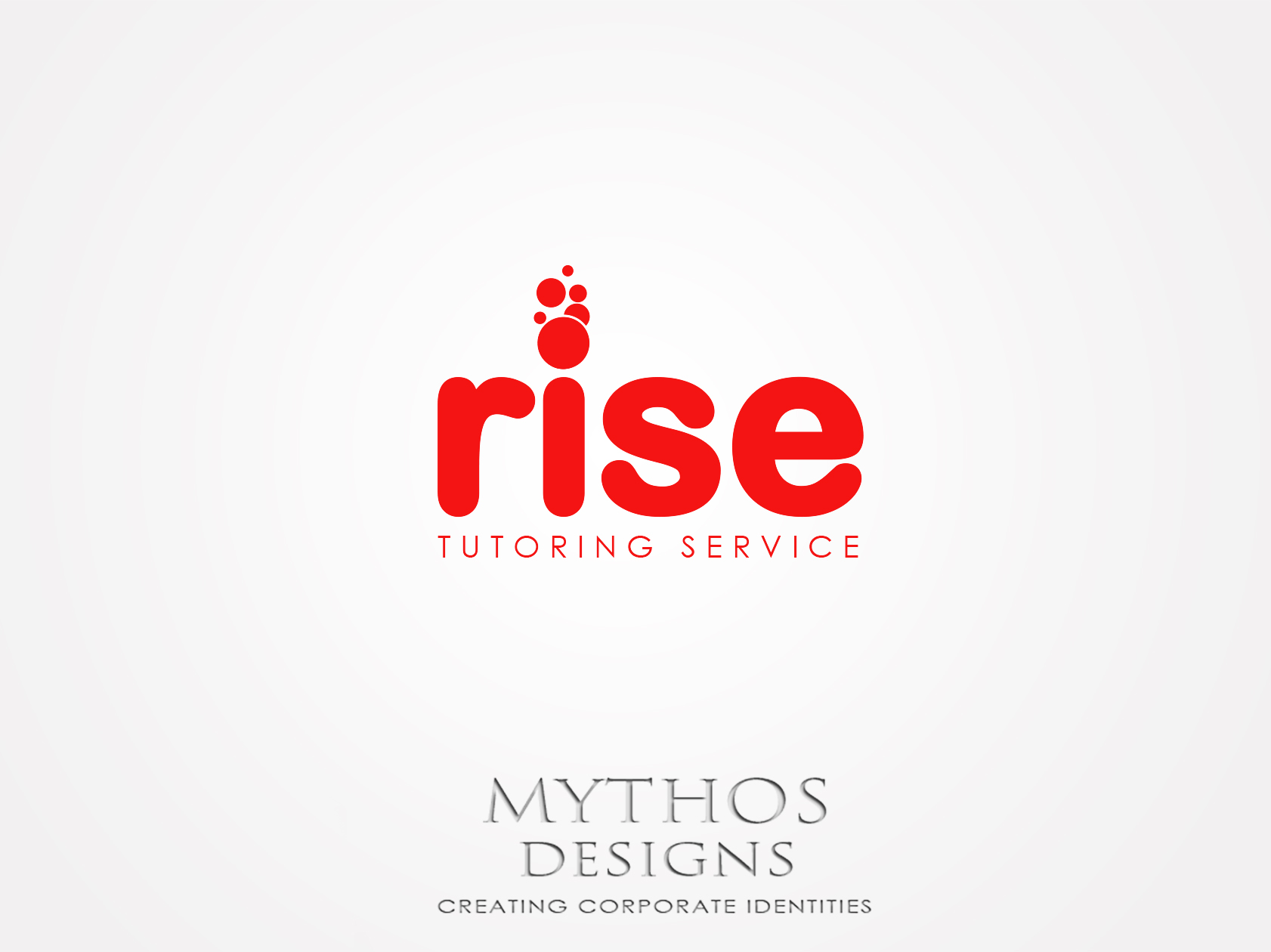 Logo Design by Mythos Designs - Entry No. 239 in the Logo Design Contest Imaginative Logo Design for Rise Tutoring Service.