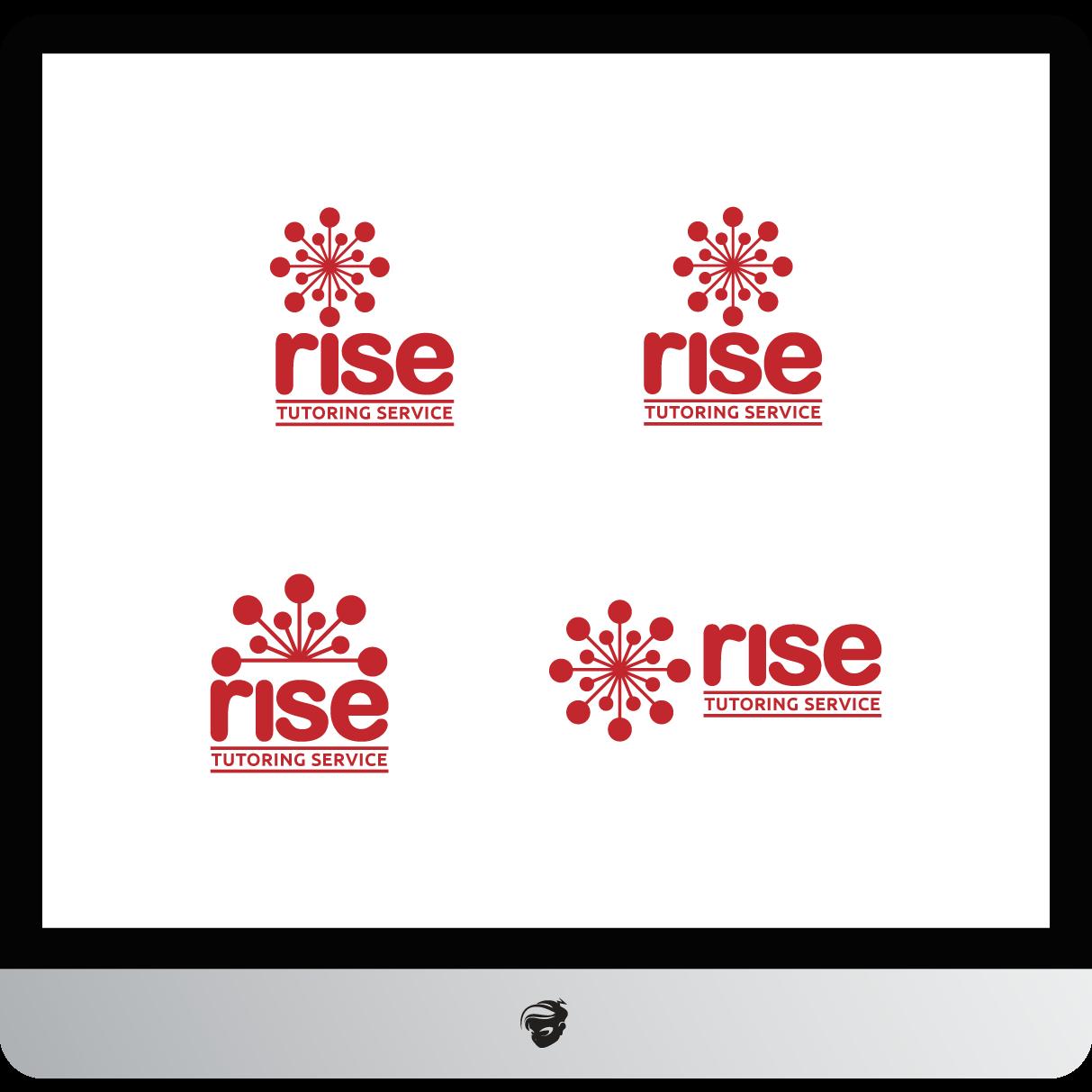 Logo Design by zesthar - Entry No. 240 in the Logo Design Contest Imaginative Logo Design for Rise Tutoring Service.