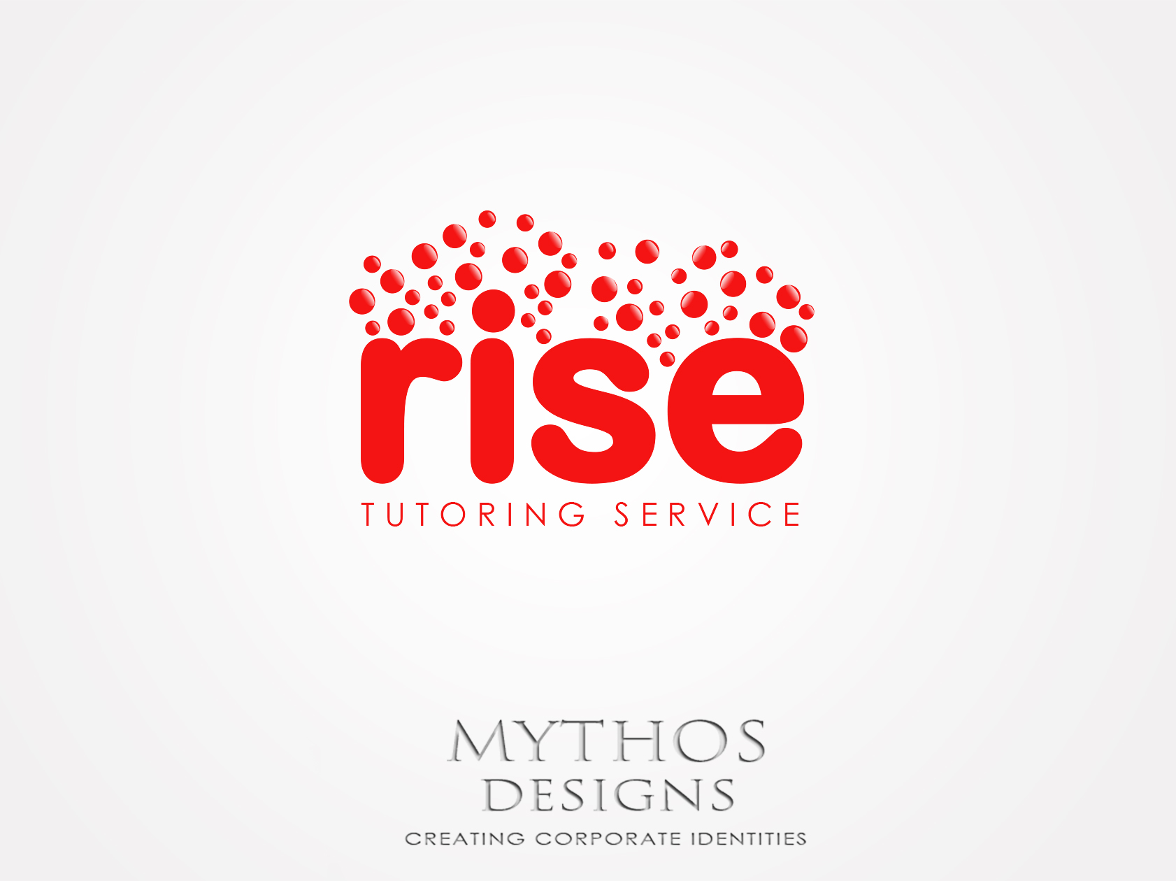 Logo Design by Mythos Designs - Entry No. 241 in the Logo Design Contest Imaginative Logo Design for Rise Tutoring Service.