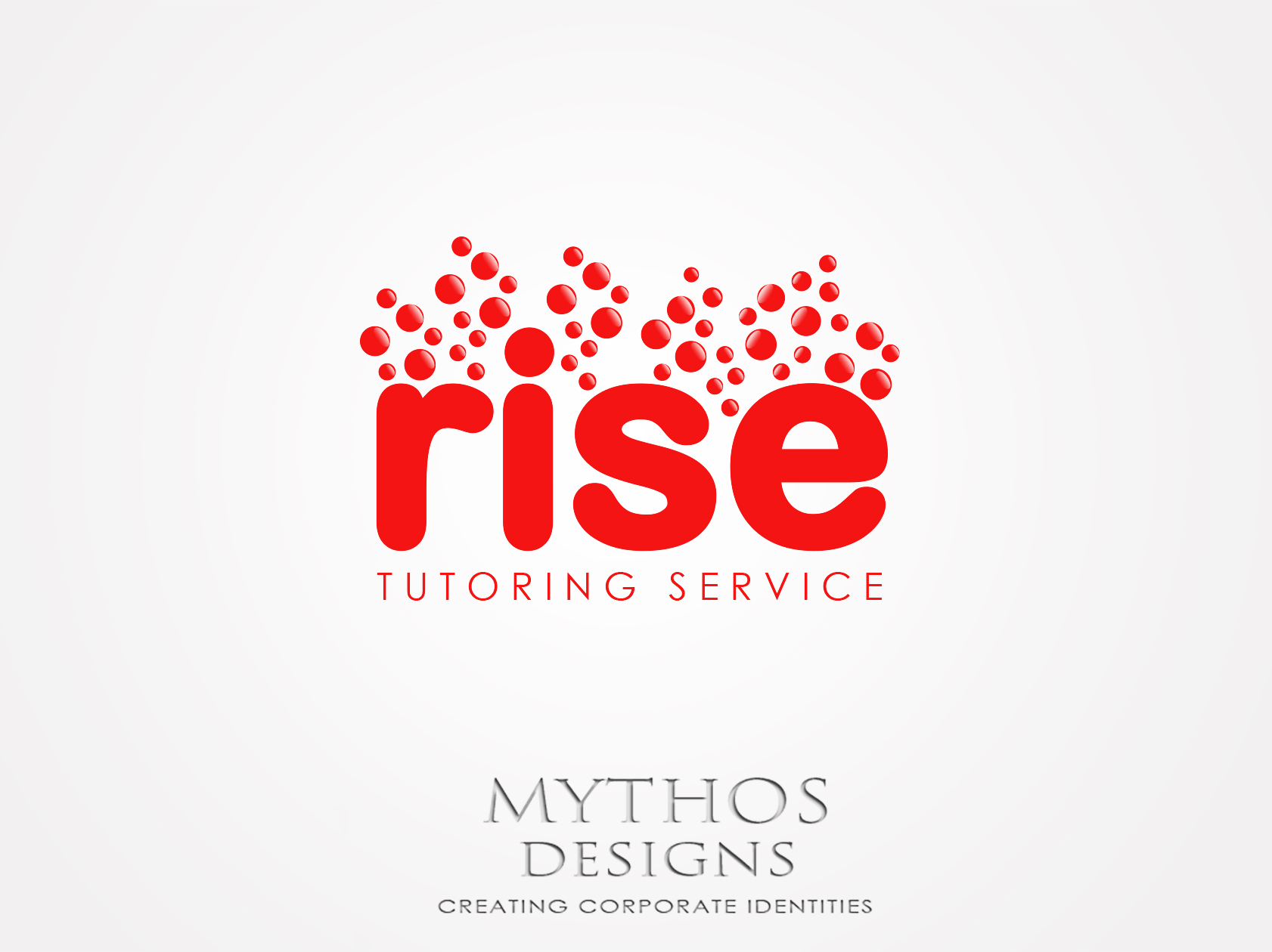 Logo Design by Mythos Designs - Entry No. 242 in the Logo Design Contest Imaginative Logo Design for Rise Tutoring Service.