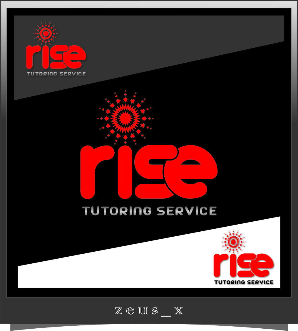Logo Design by Ngepet_art - Entry No. 244 in the Logo Design Contest Imaginative Logo Design for Rise Tutoring Service.