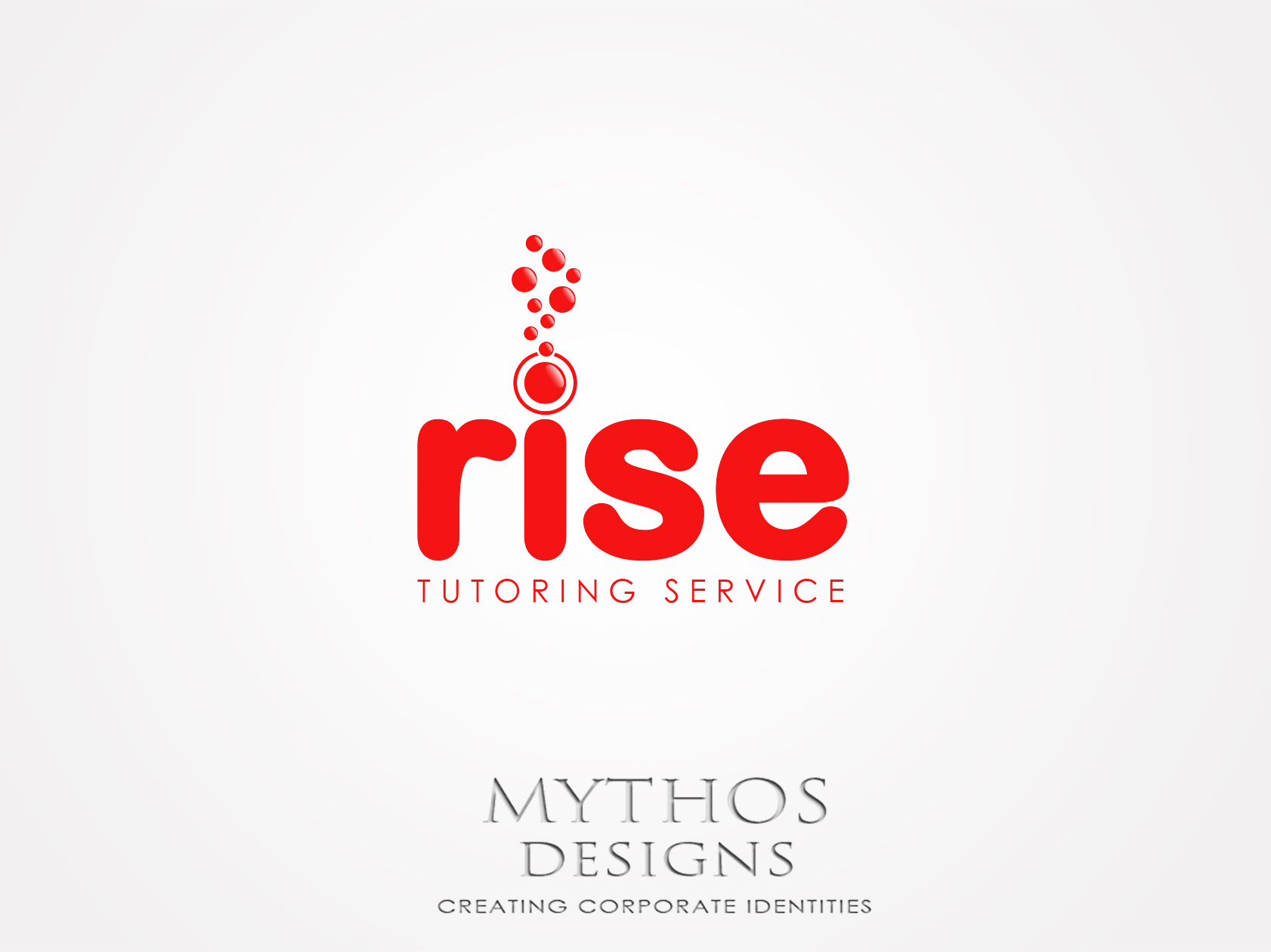 Logo Design by Mythos Designs - Entry No. 245 in the Logo Design Contest Imaginative Logo Design for Rise Tutoring Service.