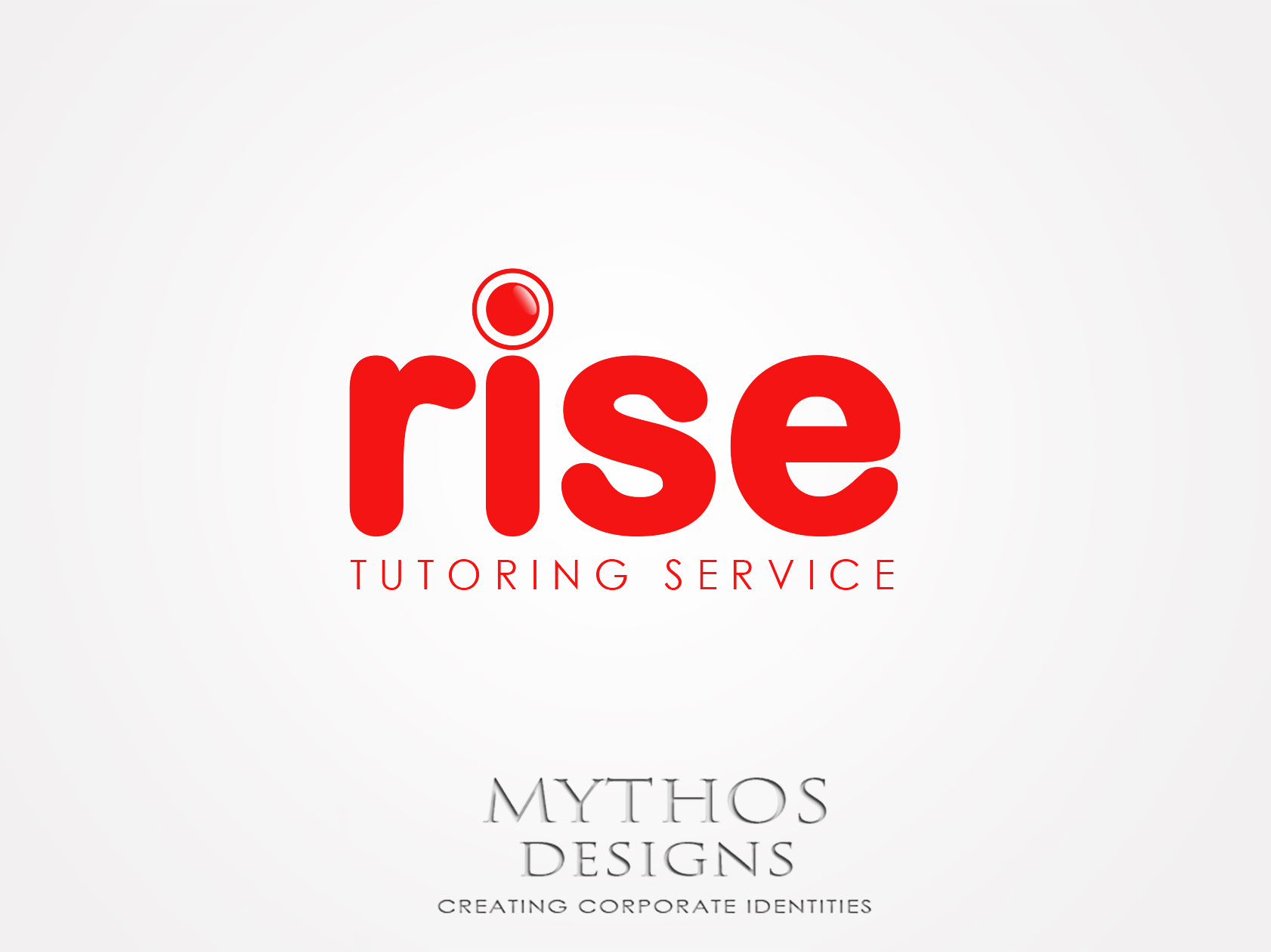 Logo Design by Mythos Designs - Entry No. 246 in the Logo Design Contest Imaginative Logo Design for Rise Tutoring Service.