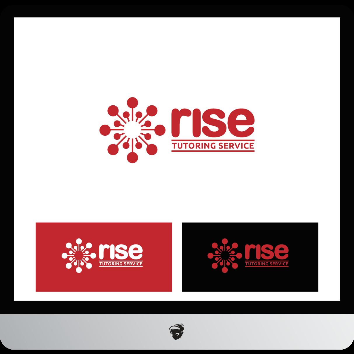 Logo Design by zesthar - Entry No. 247 in the Logo Design Contest Imaginative Logo Design for Rise Tutoring Service.