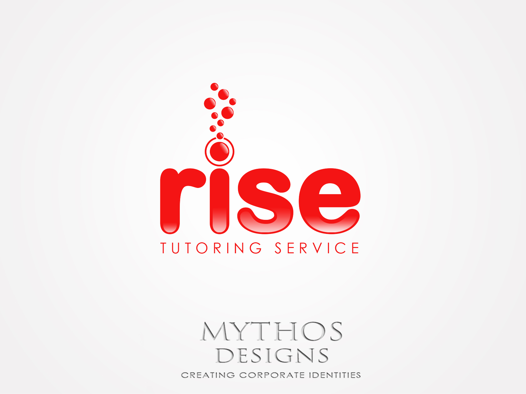 Logo Design by Mythos Designs - Entry No. 248 in the Logo Design Contest Imaginative Logo Design for Rise Tutoring Service.