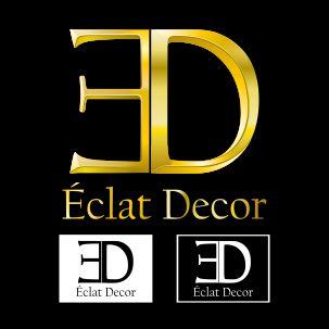 Logo Design by brown_hair - Entry No. 59 in the Logo Design Contest Imaginative Logo Design for Éclat Decor.