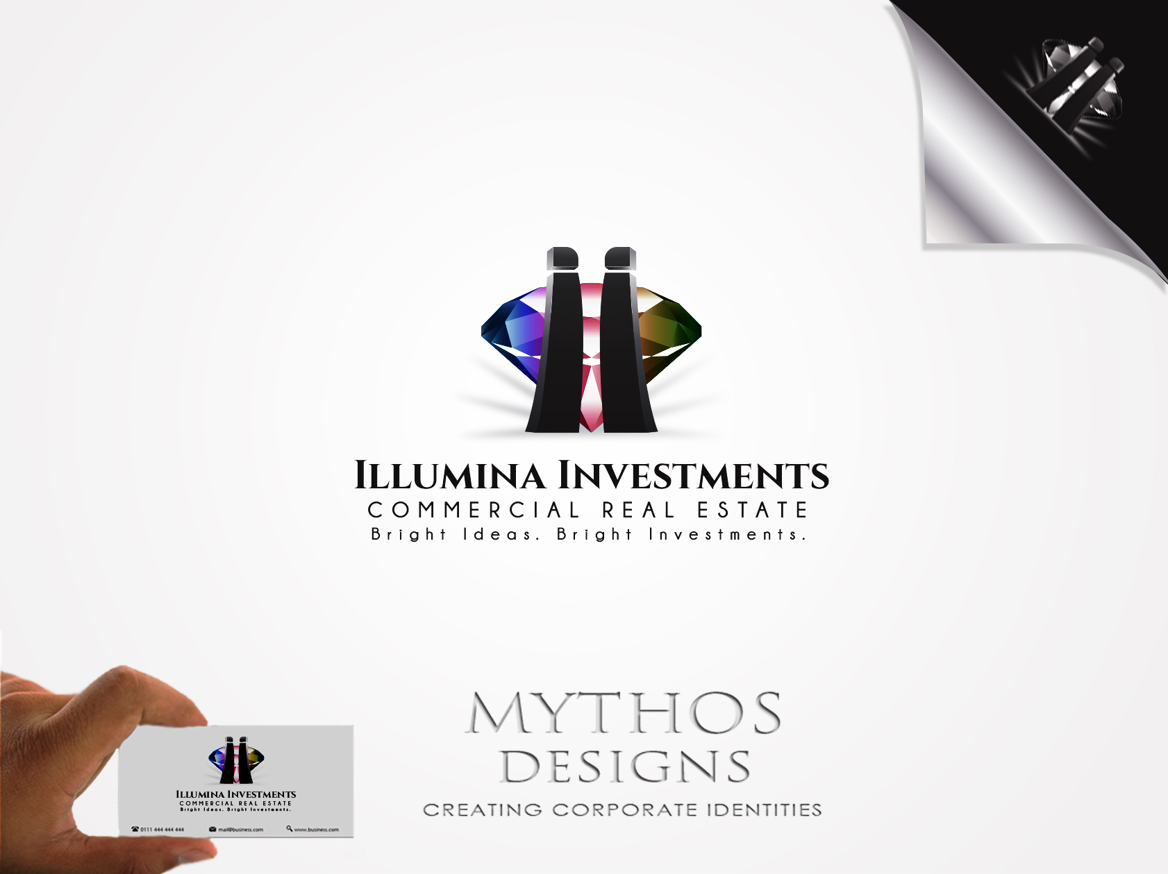 Logo Design by Mythos Designs - Entry No. 79 in the Logo Design Contest Creative Logo Design for Illumina Investments.