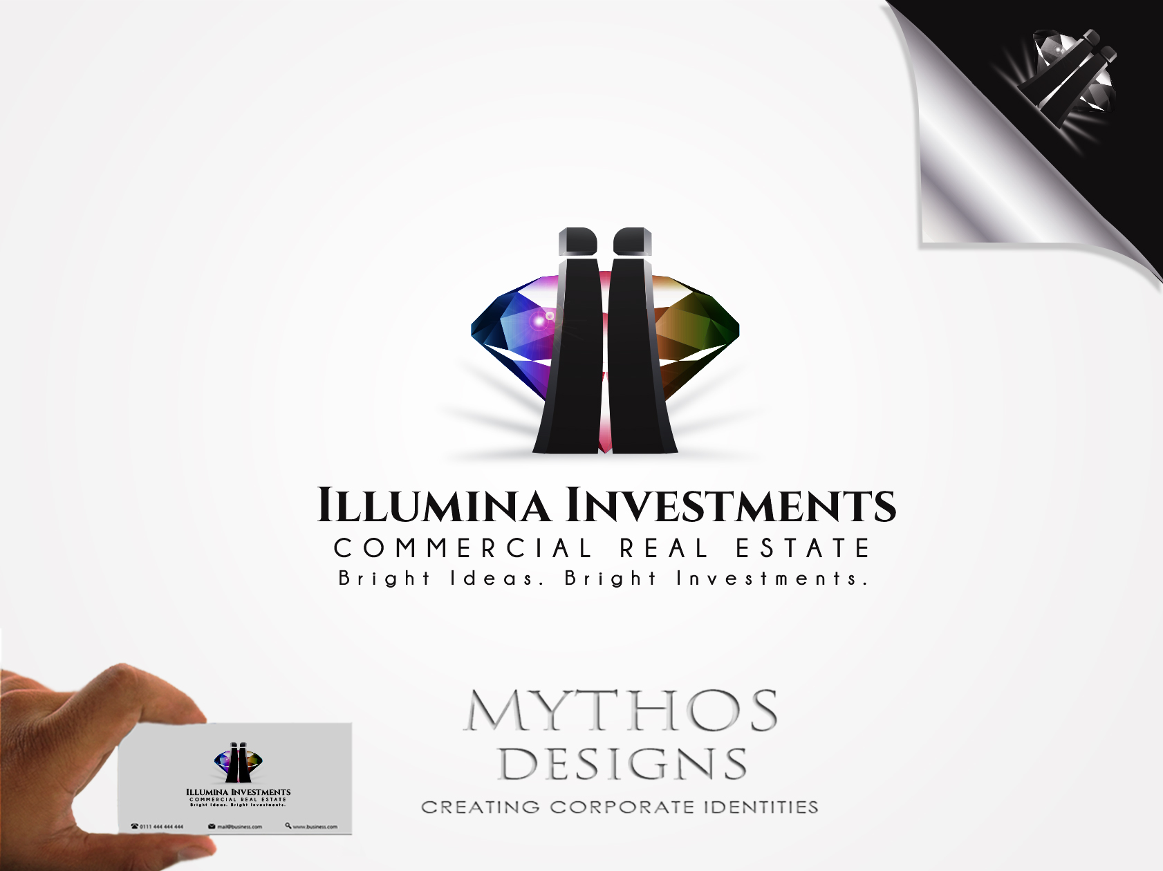 Logo Design by Mythos Designs - Entry No. 80 in the Logo Design Contest Creative Logo Design for Illumina Investments.