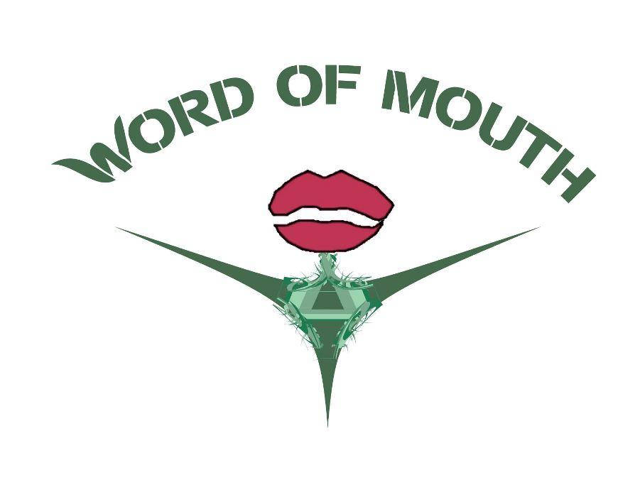 Logo Design by Ricardo Cardenas - Entry No. 97 in the Logo Design Contest Word Of Mouth.