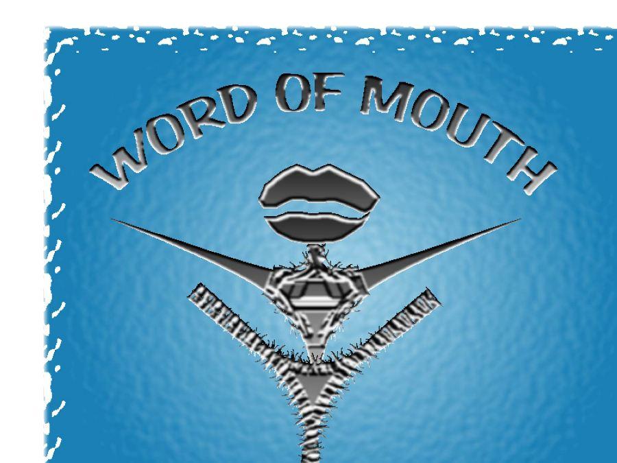 Logo Design by Ricardo Cardenas - Entry No. 99 in the Logo Design Contest Word Of Mouth.