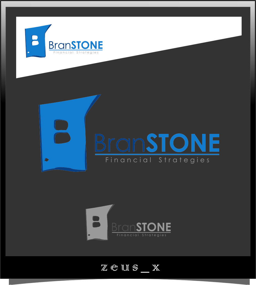 Logo Design by RasYa Muhammad Athaya - Entry No. 281 in the Logo Design Contest Inspiring Logo Design for Branstone Financial Strategies.