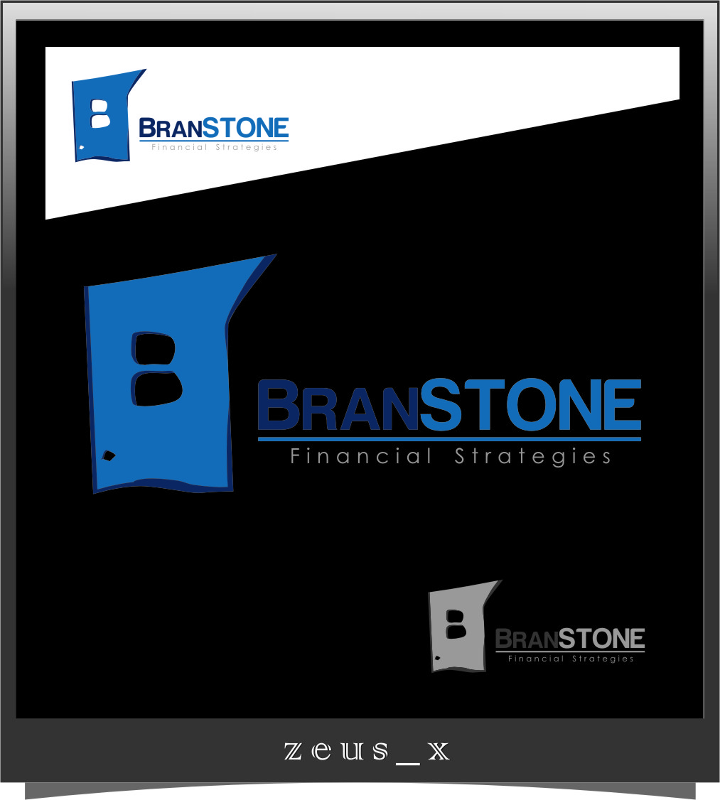 Logo Design by Ngepet_art - Entry No. 282 in the Logo Design Contest Inspiring Logo Design for Branstone Financial Strategies.