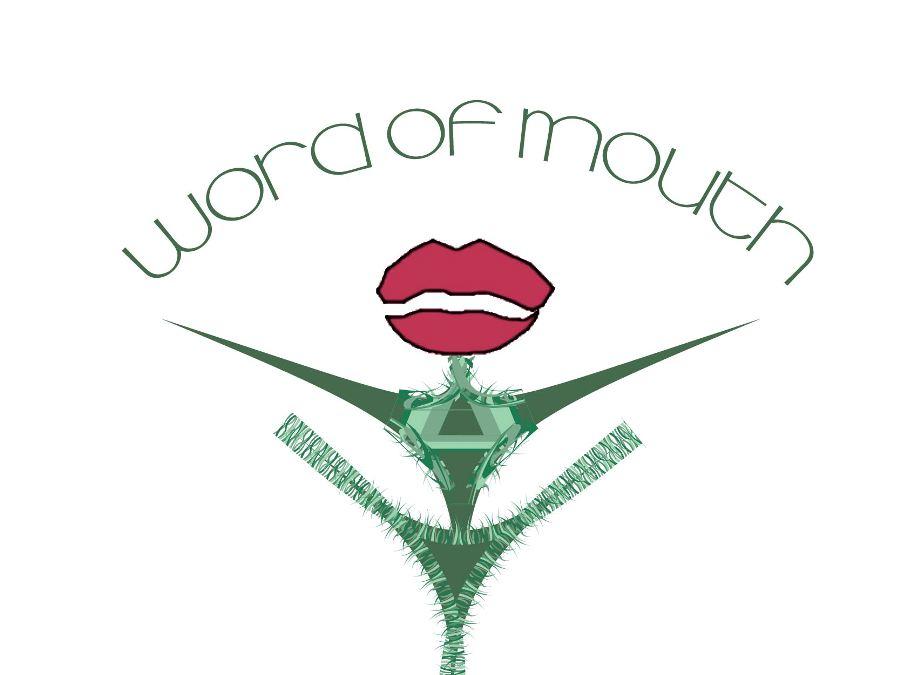 Logo Design by Ricardo Cardenas - Entry No. 100 in the Logo Design Contest Word Of Mouth.