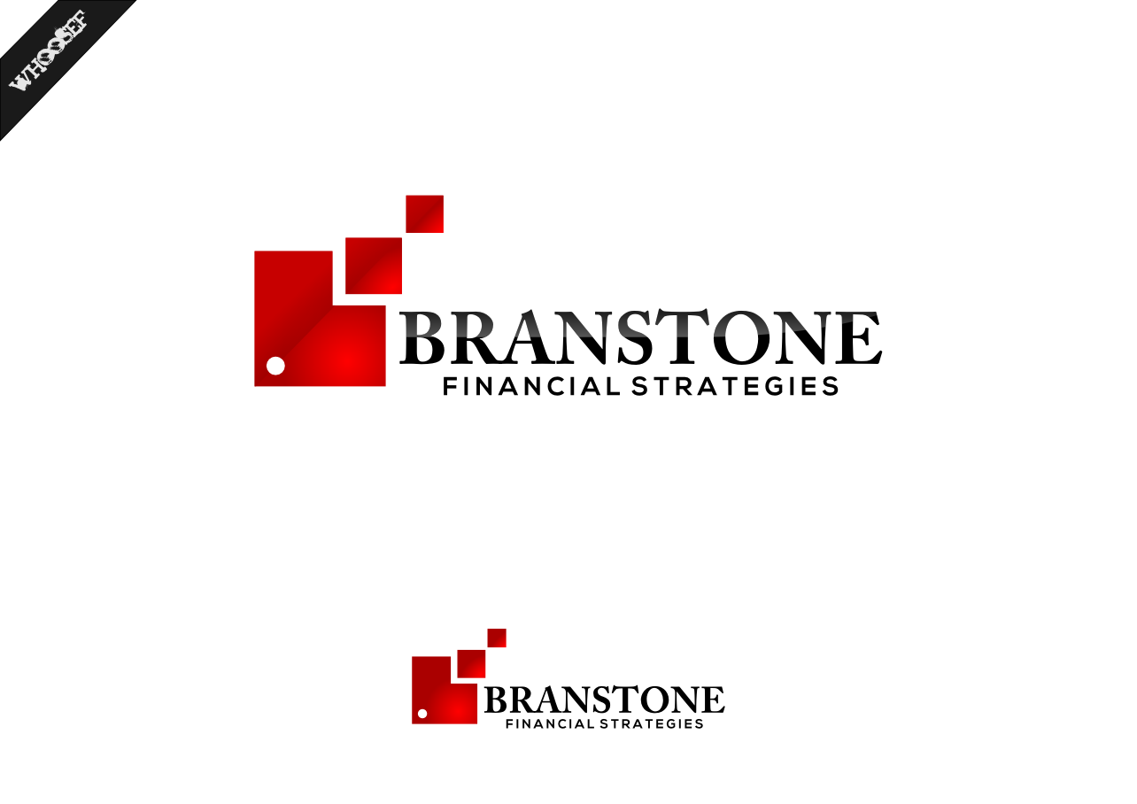Logo Design by whoosef - Entry No. 283 in the Logo Design Contest Inspiring Logo Design for Branstone Financial Strategies.
