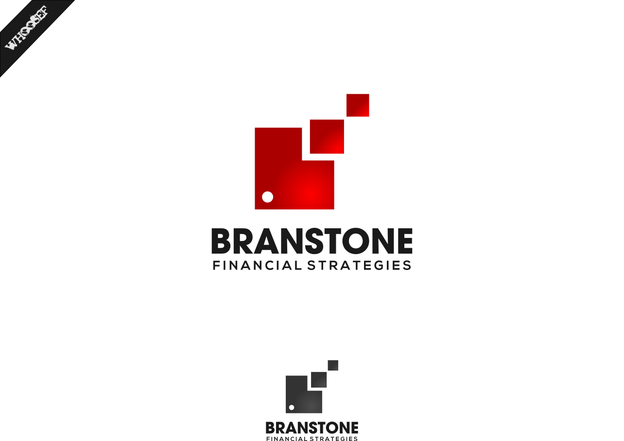 Logo Design by whoosef - Entry No. 284 in the Logo Design Contest Inspiring Logo Design for Branstone Financial Strategies.