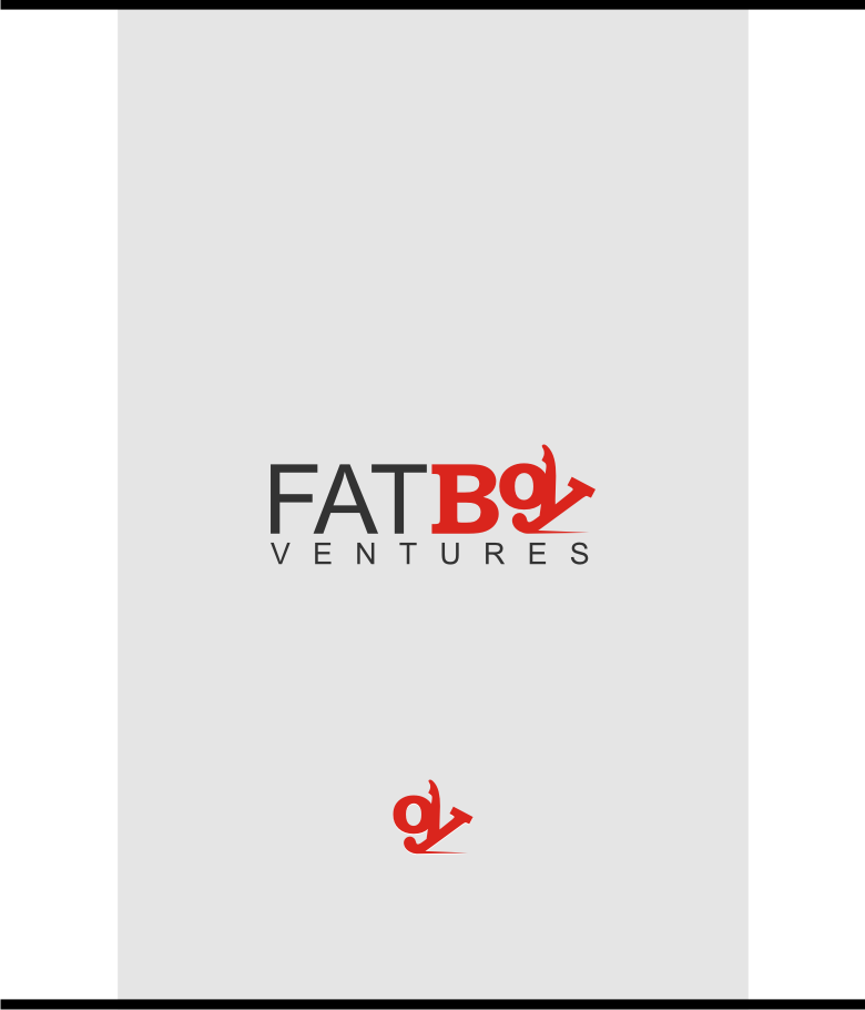 Logo Design by graphicleaf - Entry No. 82 in the Logo Design Contest Fun Logo Design for Fat Boy Ventures.