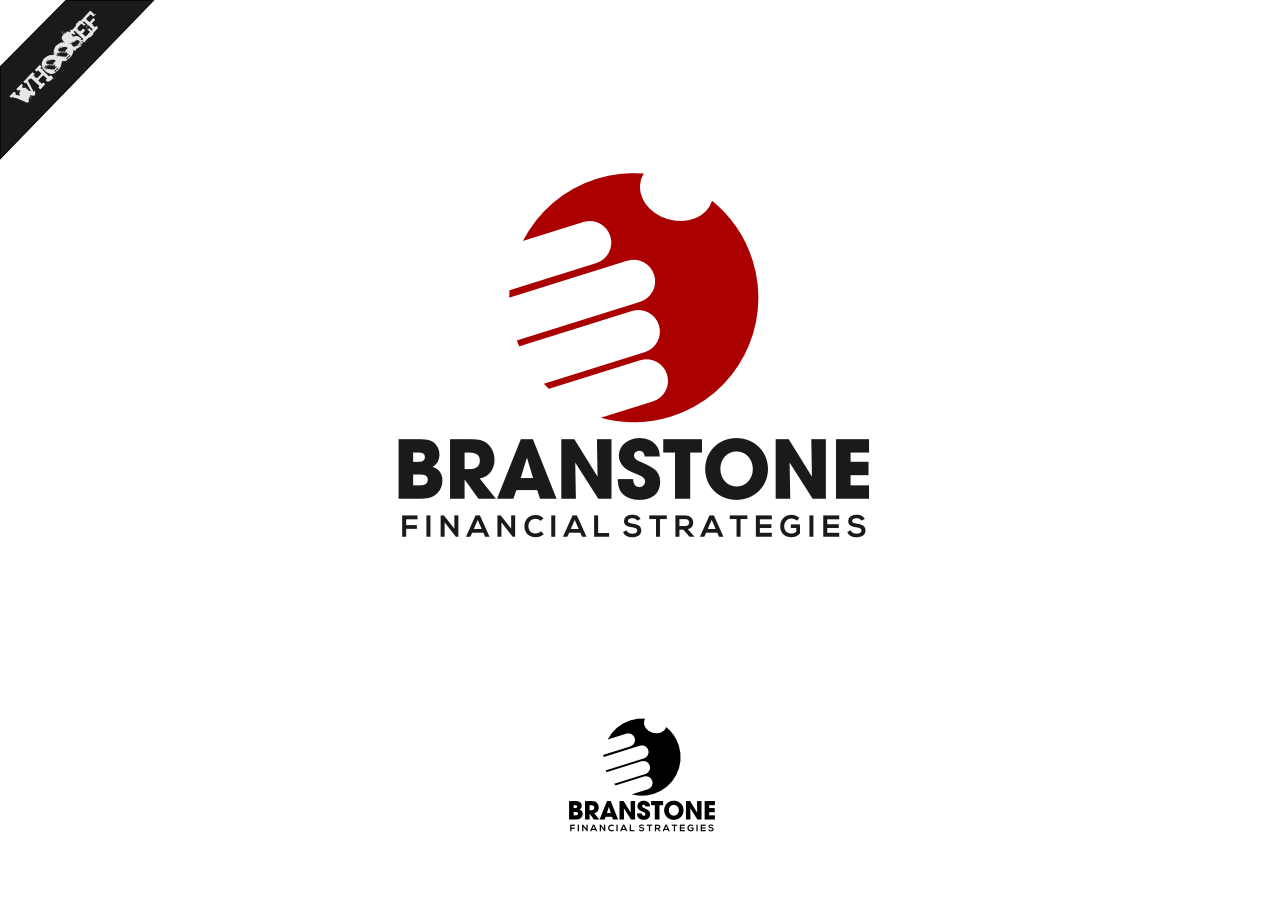 Logo Design by whoosef - Entry No. 286 in the Logo Design Contest Inspiring Logo Design for Branstone Financial Strategies.