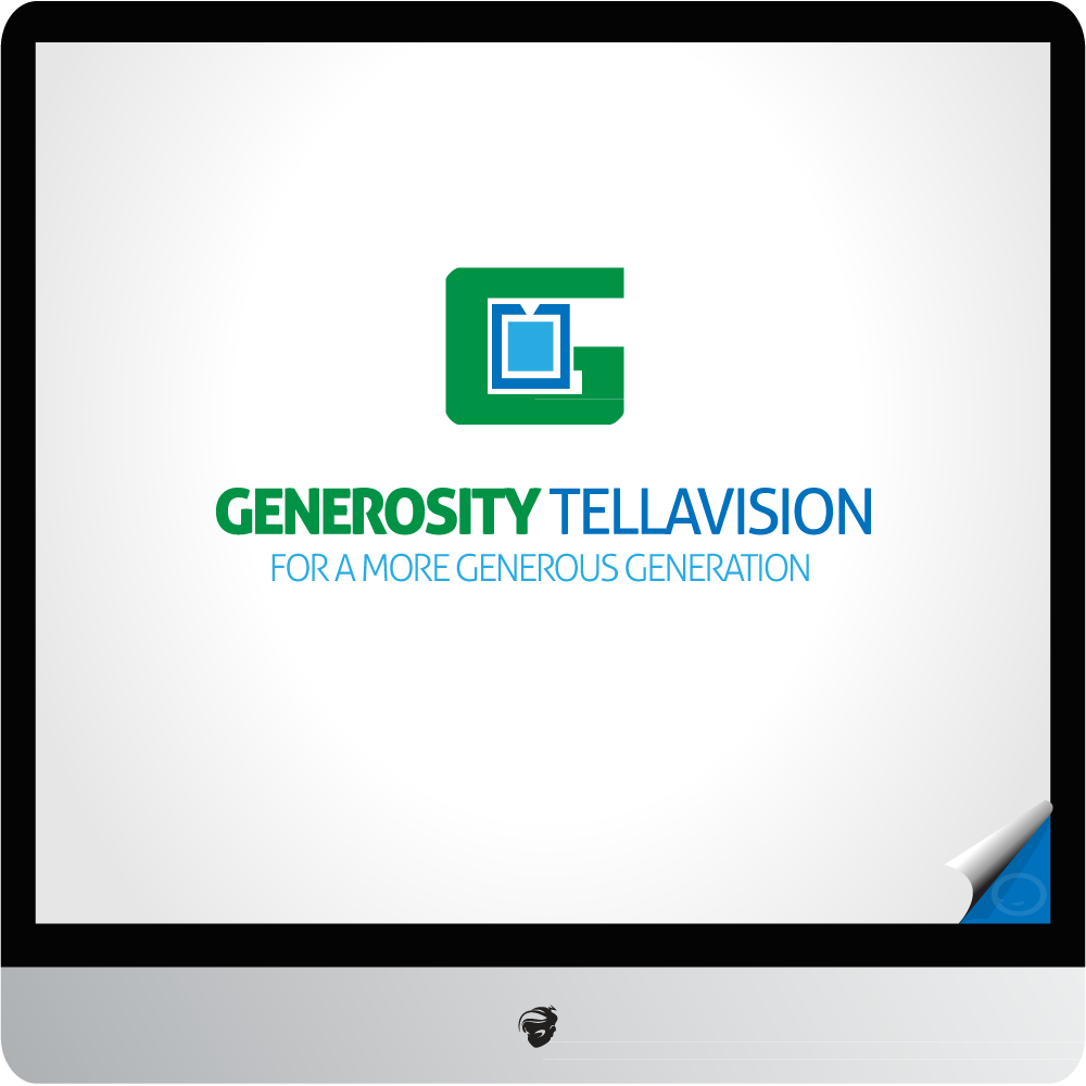 Logo Design by zesthar - Entry No. 1 in the Logo Design Contest Artistic Logo Design for Generosity TellAVision.