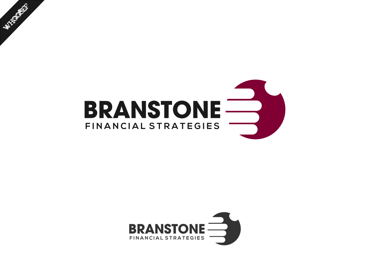 Logo Design by whoosef - Entry No. 287 in the Logo Design Contest Inspiring Logo Design for Branstone Financial Strategies.