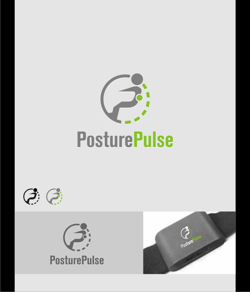 Logo Design by graphicleaf - Entry No. 90 in the Logo Design Contest Unique Logo Design Wanted for PosturePulse.