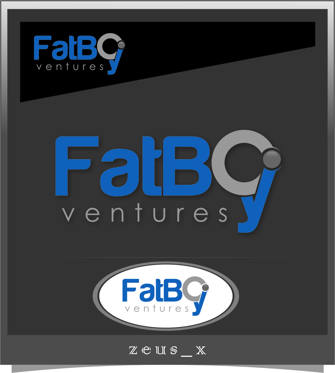 Logo Design by RasYa Muhammad Athaya - Entry No. 84 in the Logo Design Contest Fun Logo Design for Fat Boy Ventures.