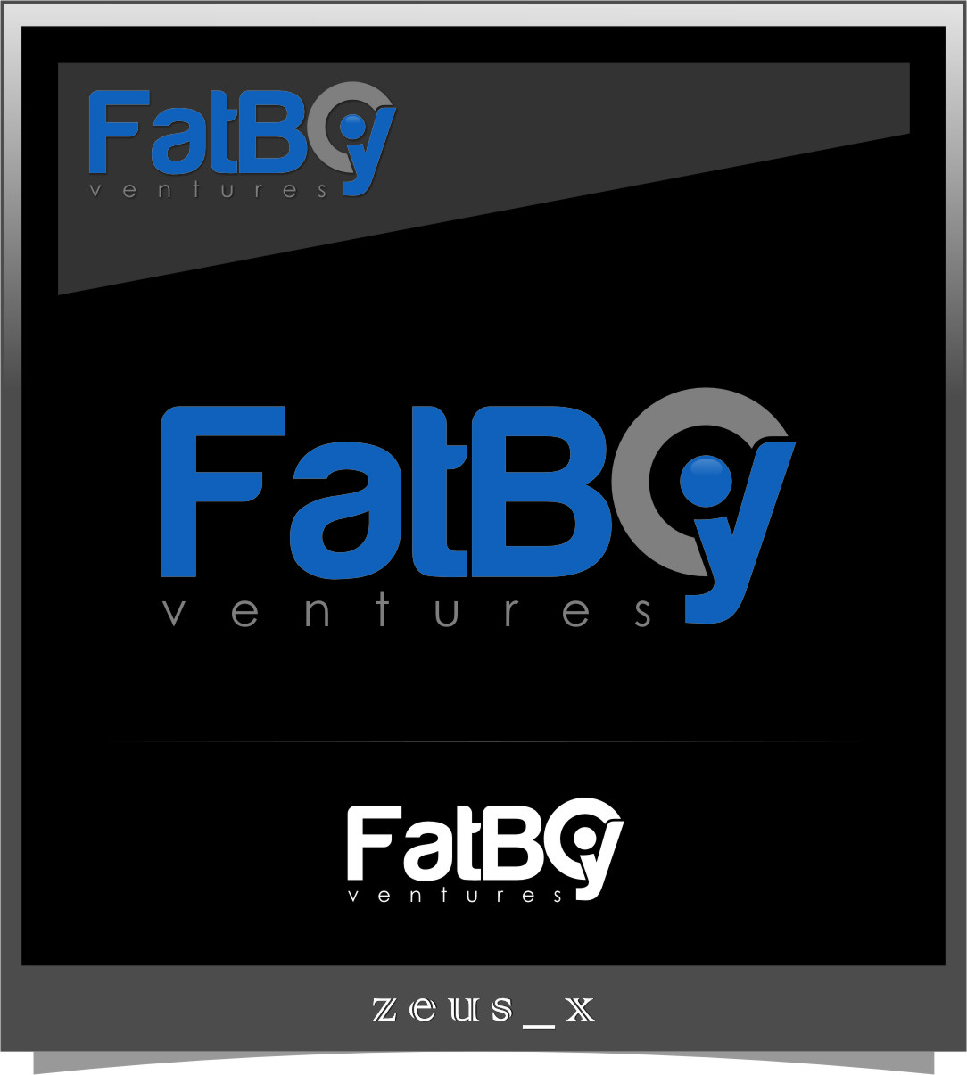 Logo Design by RasYa Muhammad Athaya - Entry No. 85 in the Logo Design Contest Fun Logo Design for Fat Boy Ventures.