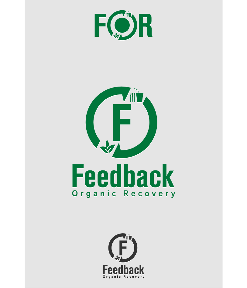 Logo Design by graphicleaf - Entry No. 38 in the Logo Design Contest Feedback Organic Recovery  Logo Design.