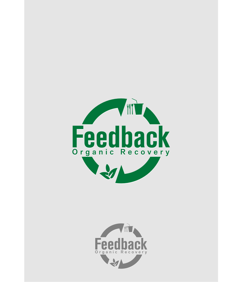 Logo Design by graphicleaf - Entry No. 39 in the Logo Design Contest Feedback Organic Recovery  Logo Design.