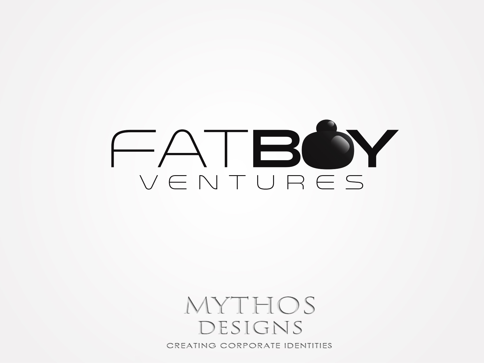 Logo Design by Mythos Designs - Entry No. 86 in the Logo Design Contest Fun Logo Design for Fat Boy Ventures.
