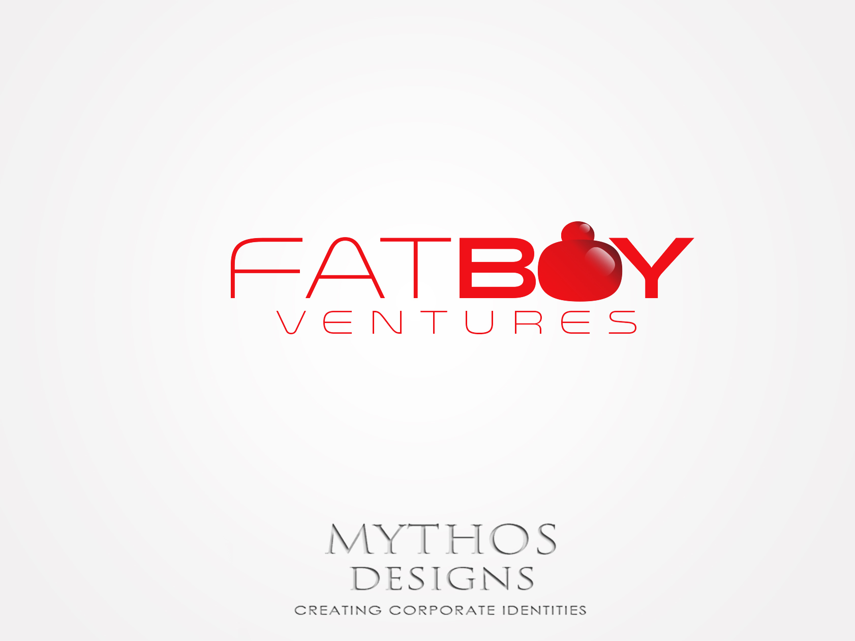 Logo Design by Mythos Designs - Entry No. 87 in the Logo Design Contest Fun Logo Design for Fat Boy Ventures.