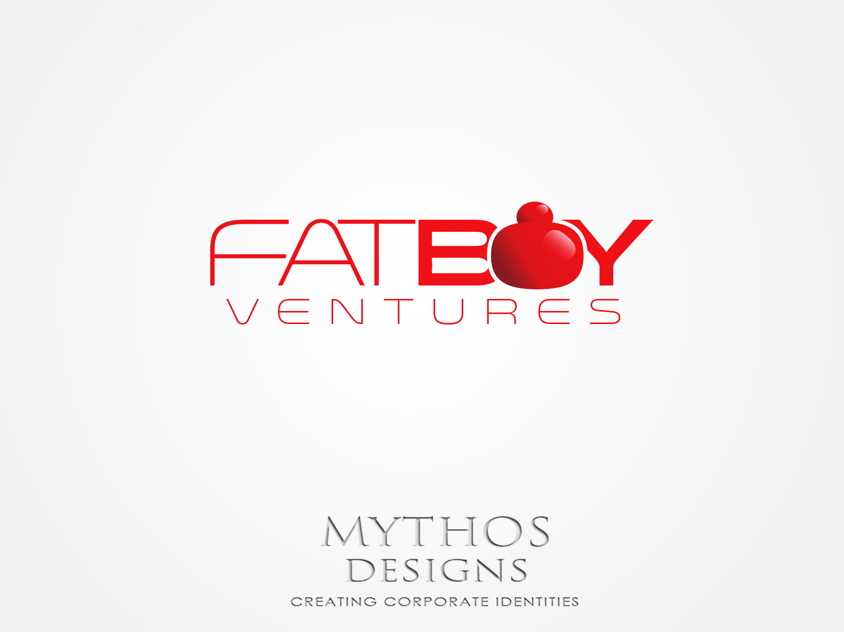 Logo Design by Mythos Designs - Entry No. 88 in the Logo Design Contest Fun Logo Design for Fat Boy Ventures.