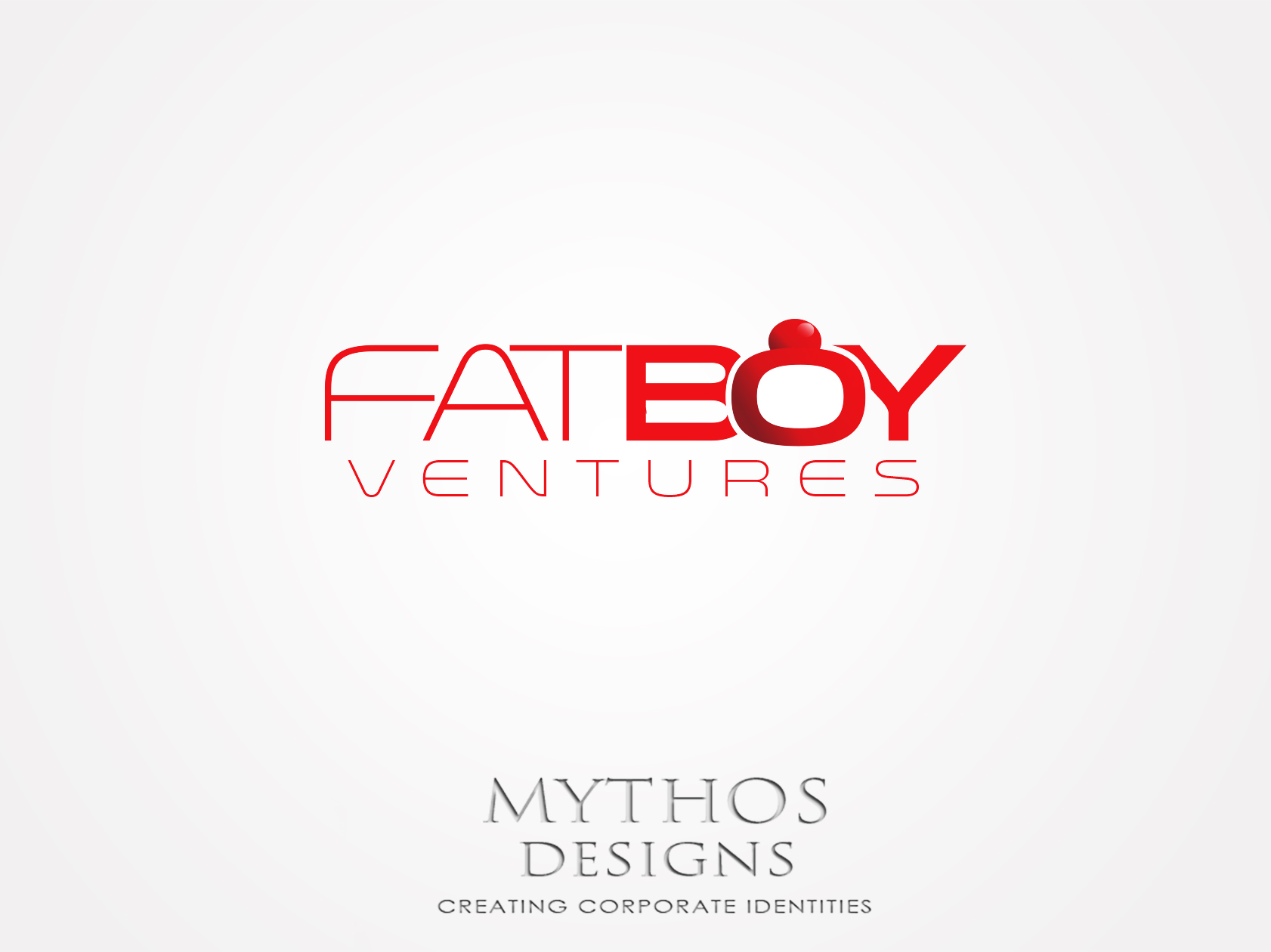 Logo Design by Mythos Designs - Entry No. 89 in the Logo Design Contest Fun Logo Design for Fat Boy Ventures.