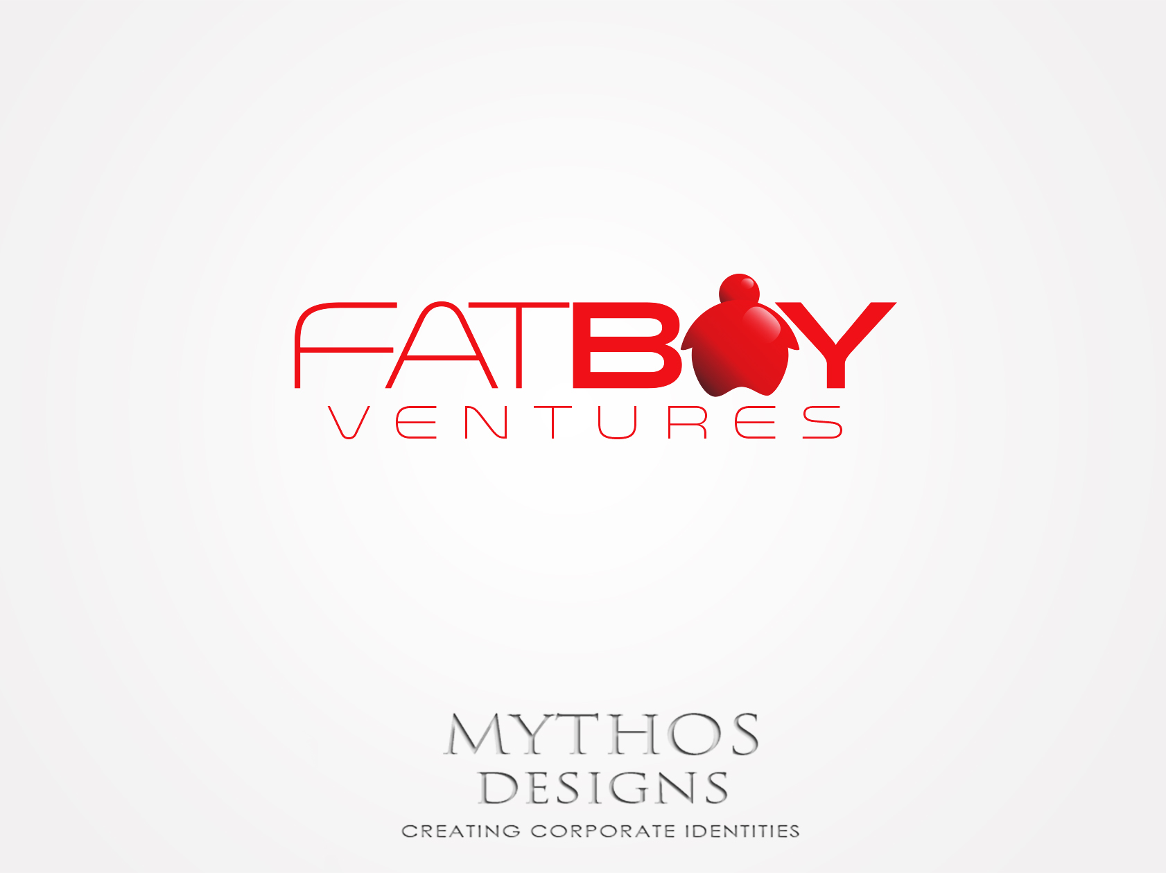 Logo Design by Mythos Designs - Entry No. 90 in the Logo Design Contest Fun Logo Design for Fat Boy Ventures.