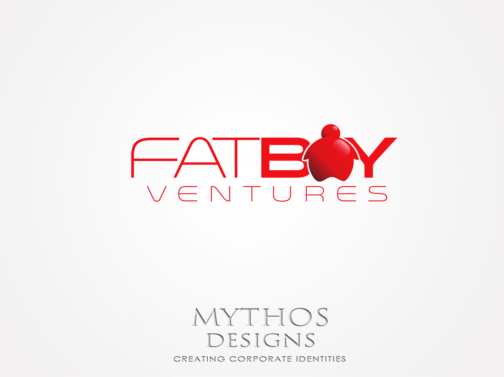 Logo Design by Mythos Designs - Entry No. 92 in the Logo Design Contest Fun Logo Design for Fat Boy Ventures.