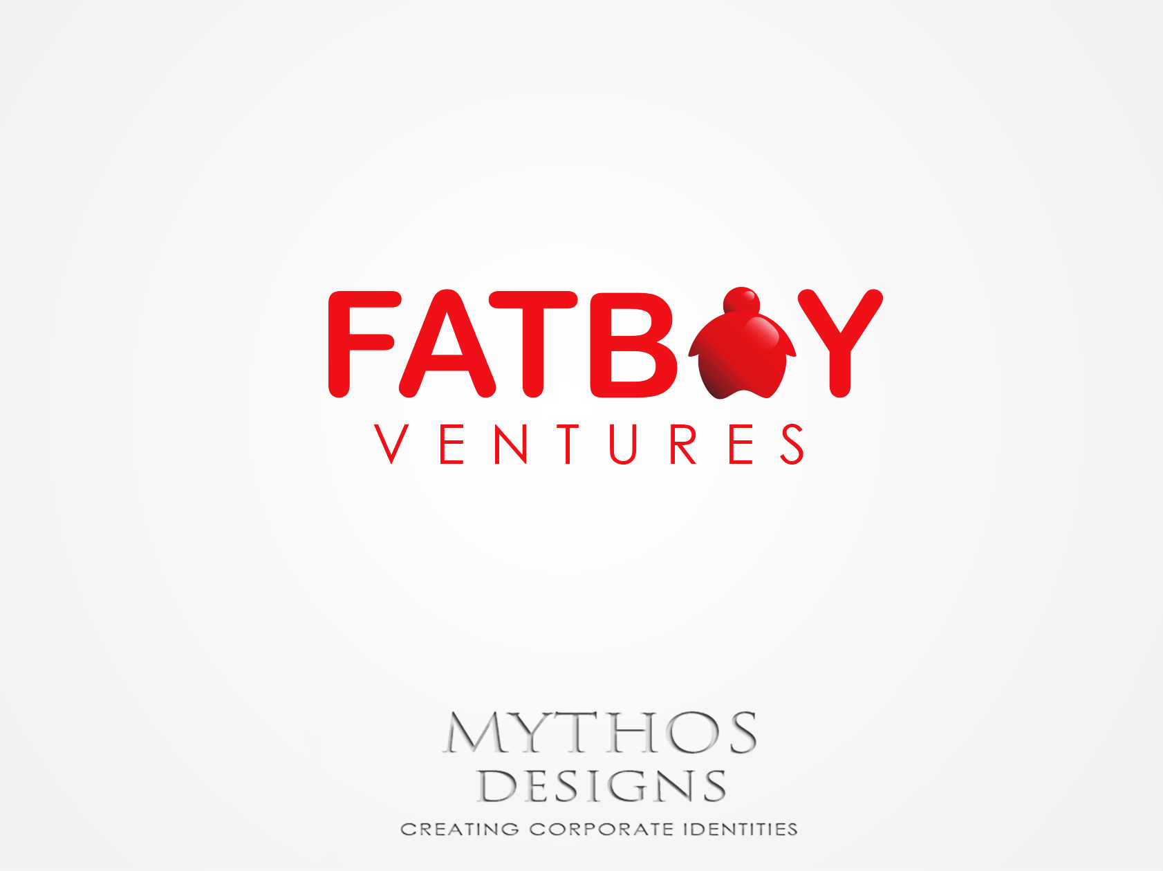 Logo Design by Mythos Designs - Entry No. 93 in the Logo Design Contest Fun Logo Design for Fat Boy Ventures.