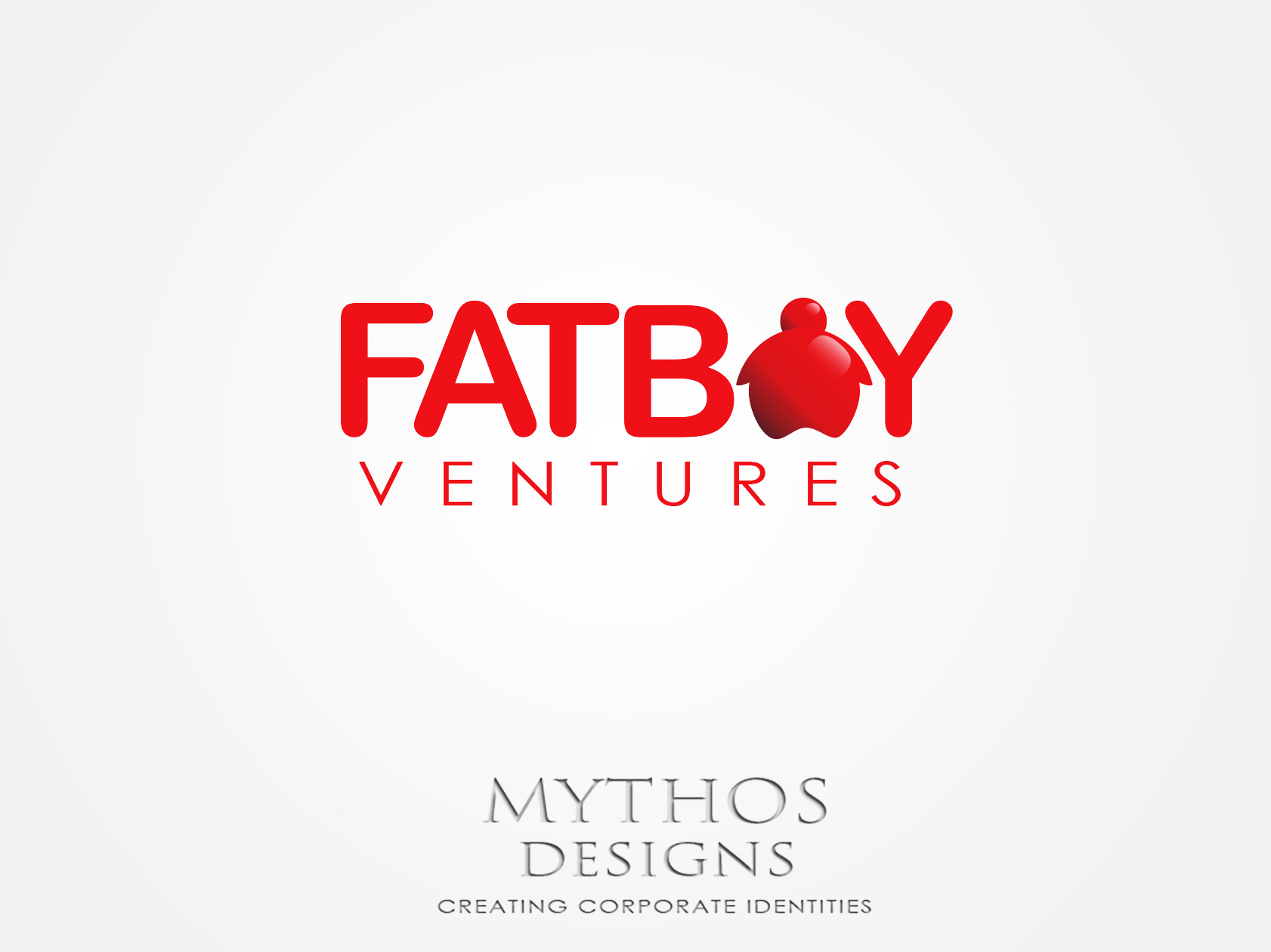 Logo Design by Mythos Designs - Entry No. 94 in the Logo Design Contest Fun Logo Design for Fat Boy Ventures.