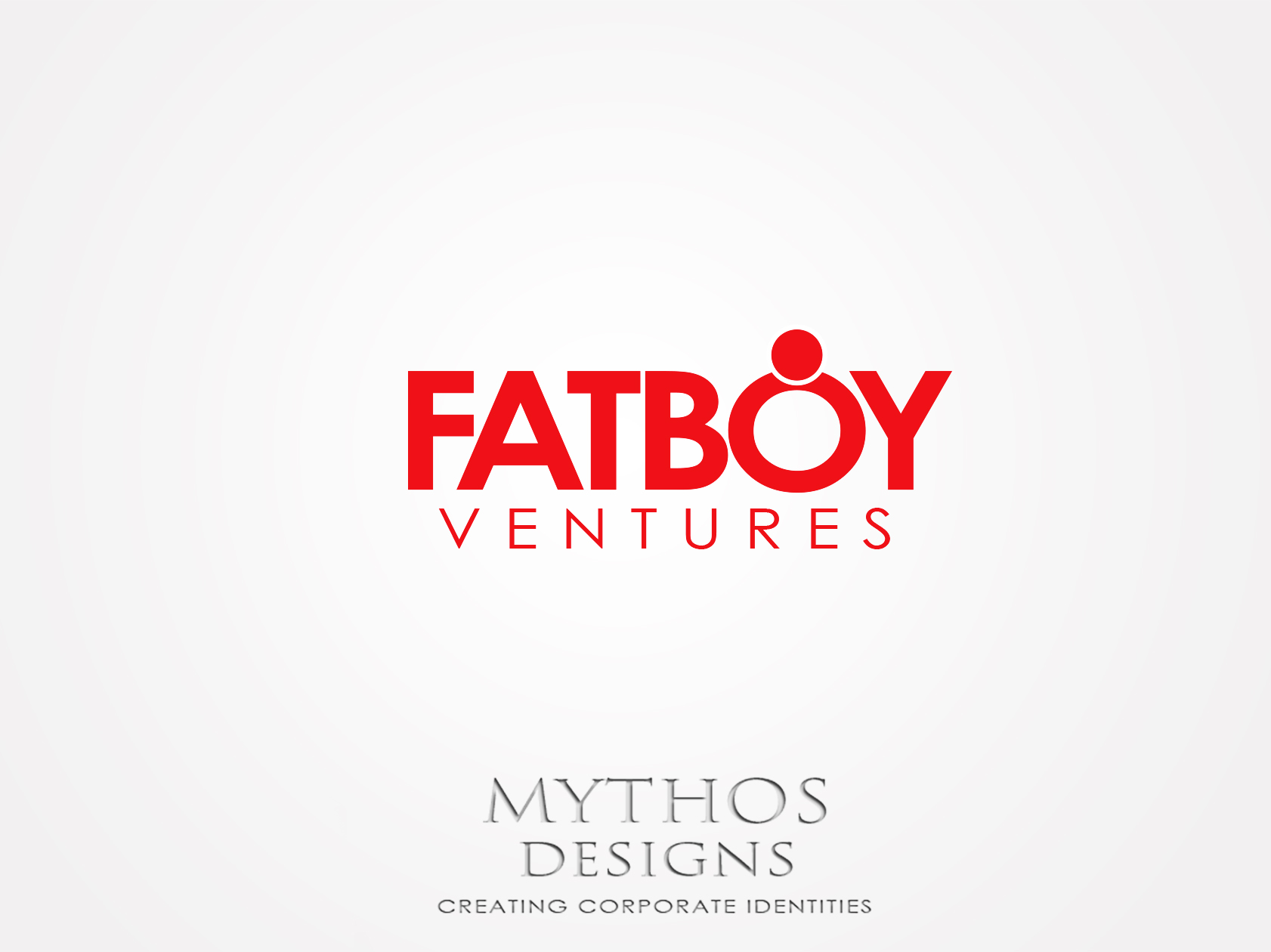 Logo Design by Mythos Designs - Entry No. 96 in the Logo Design Contest Fun Logo Design for Fat Boy Ventures.